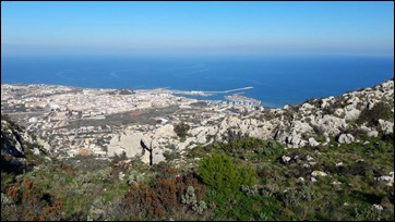 Denia from above